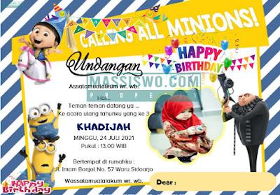download kartu undangan ulang tahun anak