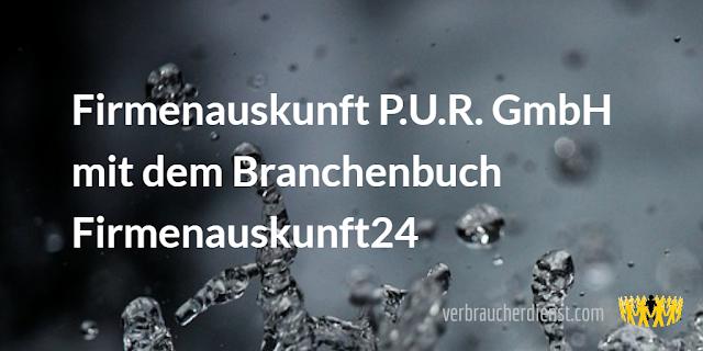 Titel: Firmenauskunft P.U.R. GmbH: Alte Bekannte mit neuem Branchenbuch Firmenauskunft24