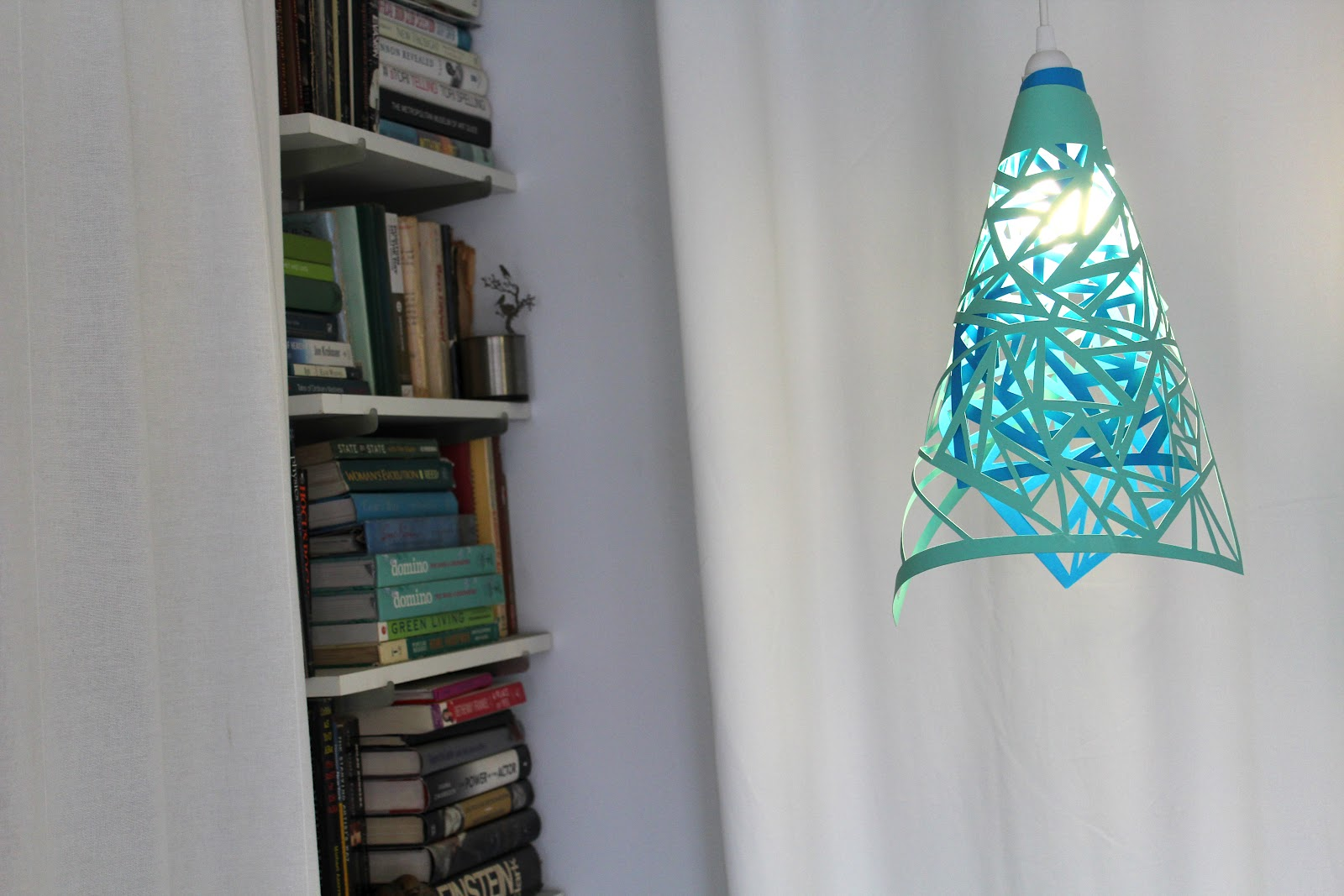 how to make paper cut lamps