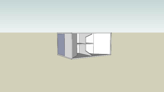 Sketchup USB Bass Bin Plans