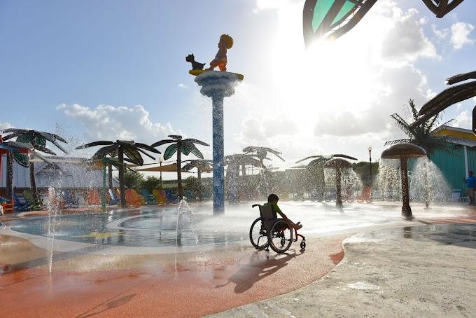 Wow ! Taman Air Pertama untuk Penyandang Disabilitas Telah Didirikan