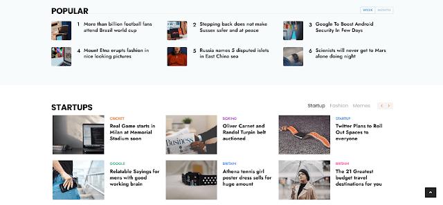 Story Mag - Blogger Premium  News & Megazine Template 10