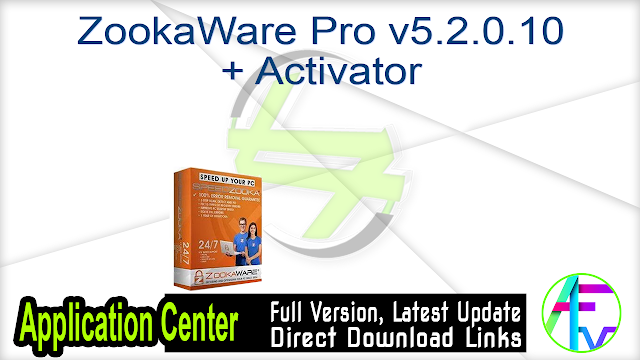 ZookaWare Pro v5.2.0.10 + Activator