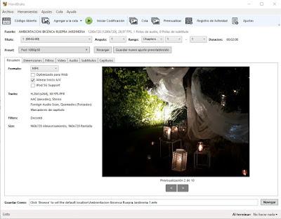 Convertir archivos de video a los formatos de dispositivos actuales
