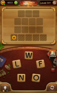 Word Connect Level 341 to 360 Answers