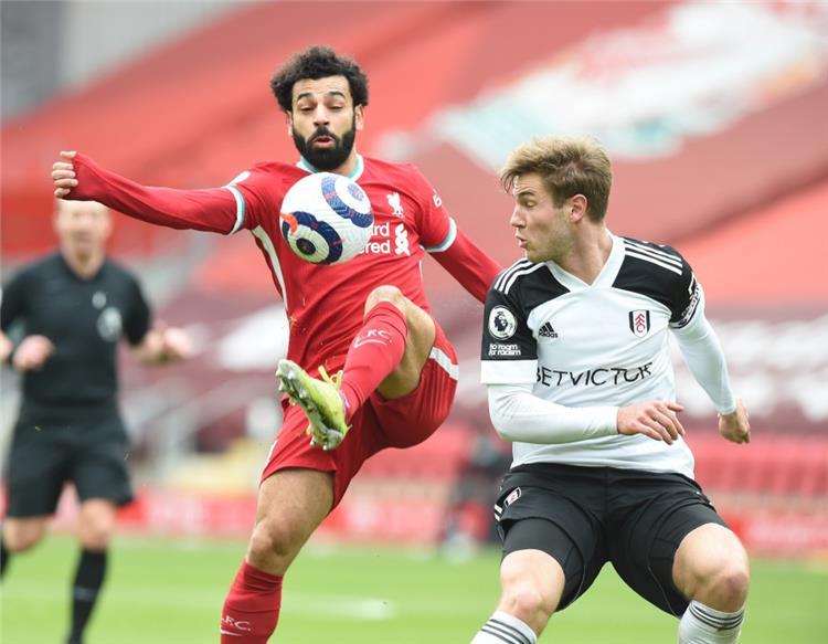 ملخص لمسات محمد صلاح في مباراة ليفربول ضد فولهام