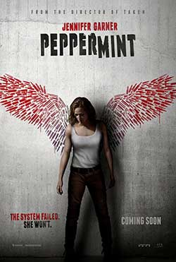 Peppermint 2018 English Movie Download HDCAM 720p