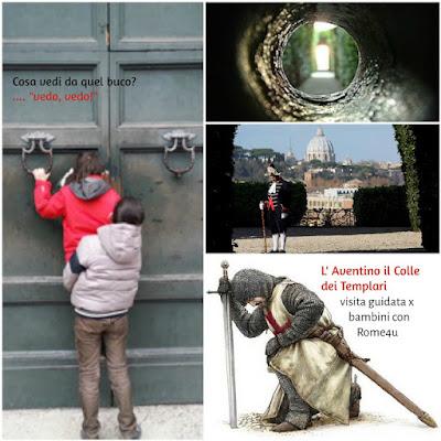 Il segreto dei Cavalieri di Malta, la ricerca del Santo Graal e le meraviglie del Colle Aventino - Visita guidata per bambini e ragazzi Roma