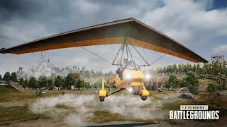 Motor Glider, the first flying vehicle at PUBG