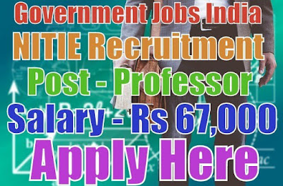 National Institute of Industrial Engineering recruitment NITIE 2017