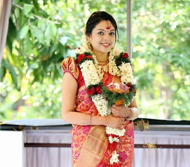 Actress Radhika during her engagement ceremony