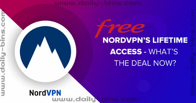 حسابات مدفوعه لتطبيق NordVpn Premium صالحه لمدة 5 سنوات