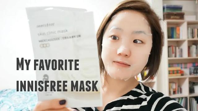 Masker Wajah Korea - Innisfree