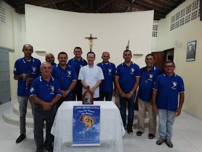 O Grupo do Terço dos homens da comunidade de Nossa Senhora da Conceição celebra os 6 anos de existência