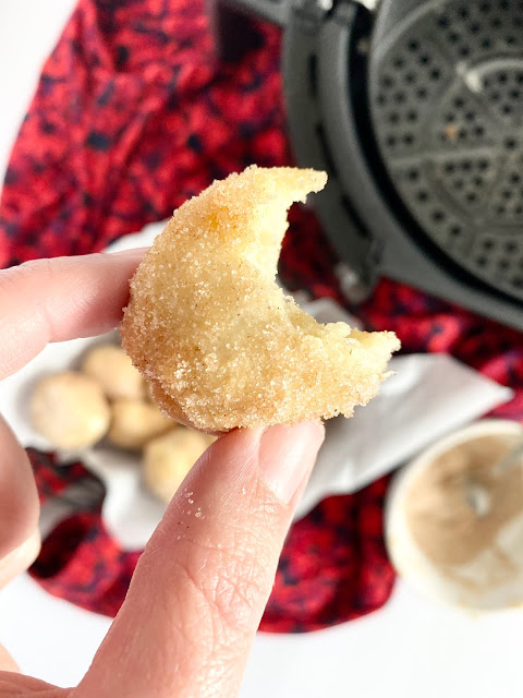 Air Fryer Donut Holes (using Pizza Dough)