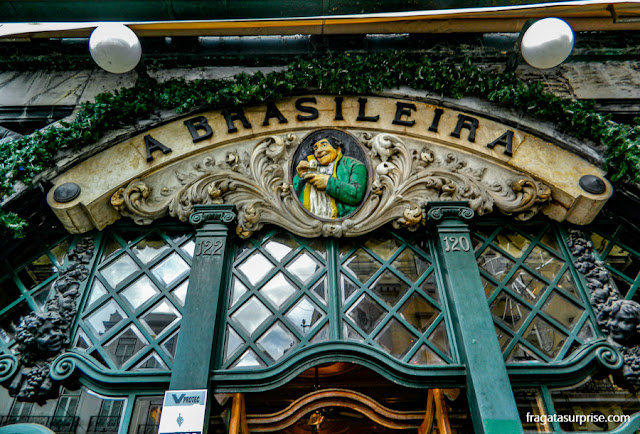 Café A Brasileira, Chiado, Lisboa