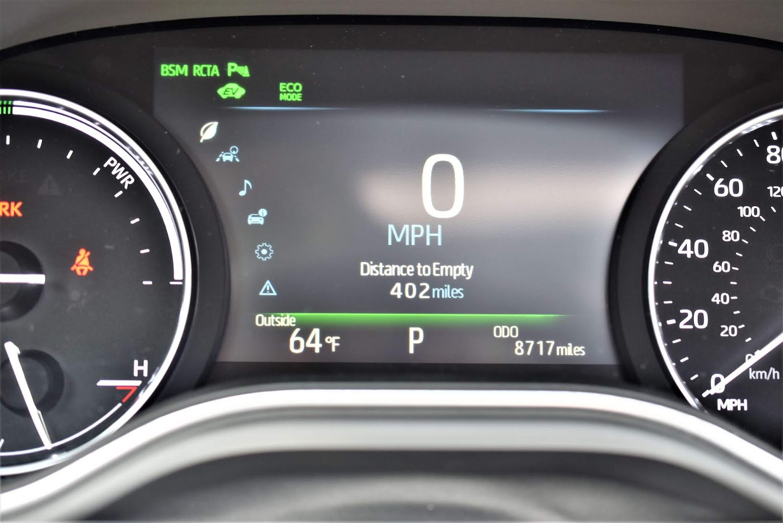 2019 Toyota Avalon Hybrid Limited Gas Gauge
