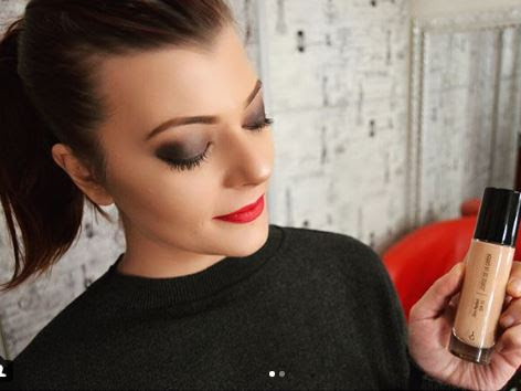 New make-up with  Skin Perfect