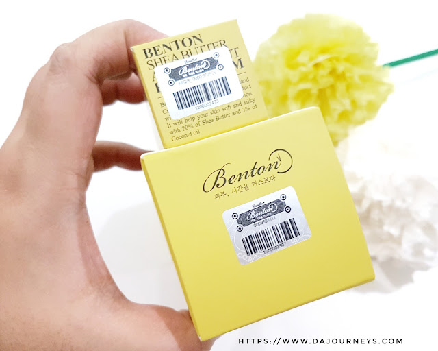 Review Benton Shea Butter and Coconut Series