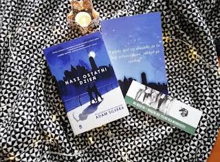 """Recenzja książki: """" Nasz ostatni dzień""""- Adam Silvera"""