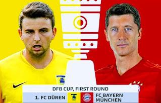 موعد مباراة بايرن ميونخ ودورين ميرزنيتش 15-10-2020 والقنوات الناقلة ضمن كأس ألمانيا