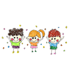 Three childhood friendhood