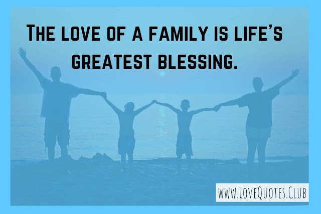 love quotes for Family