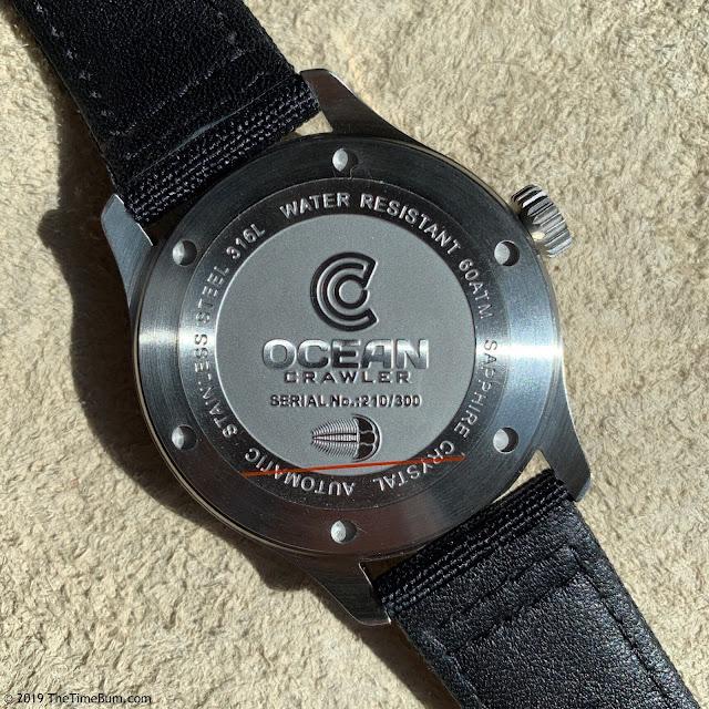 Ocean Crawler Dream Diver red case back