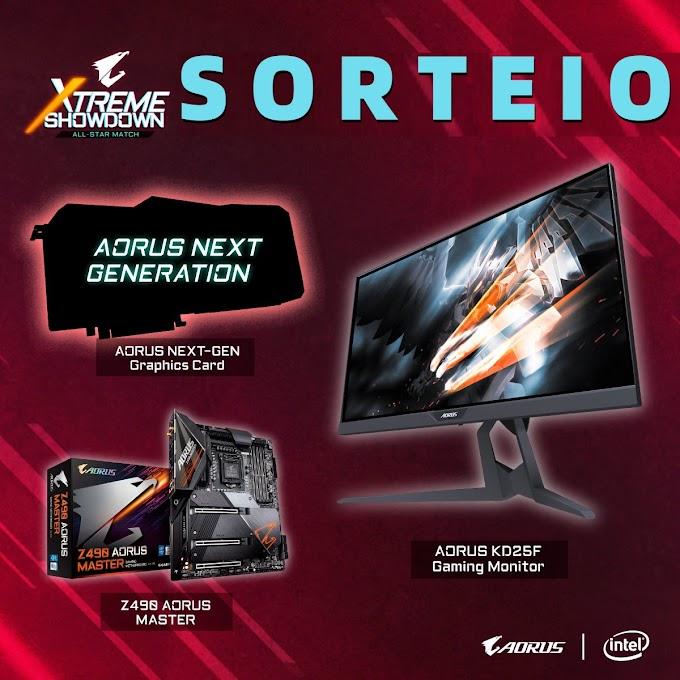 Sorteio de uma GeForce RTX 2080 + Monitor Gamer + Placa Mae Gigabyte Z490