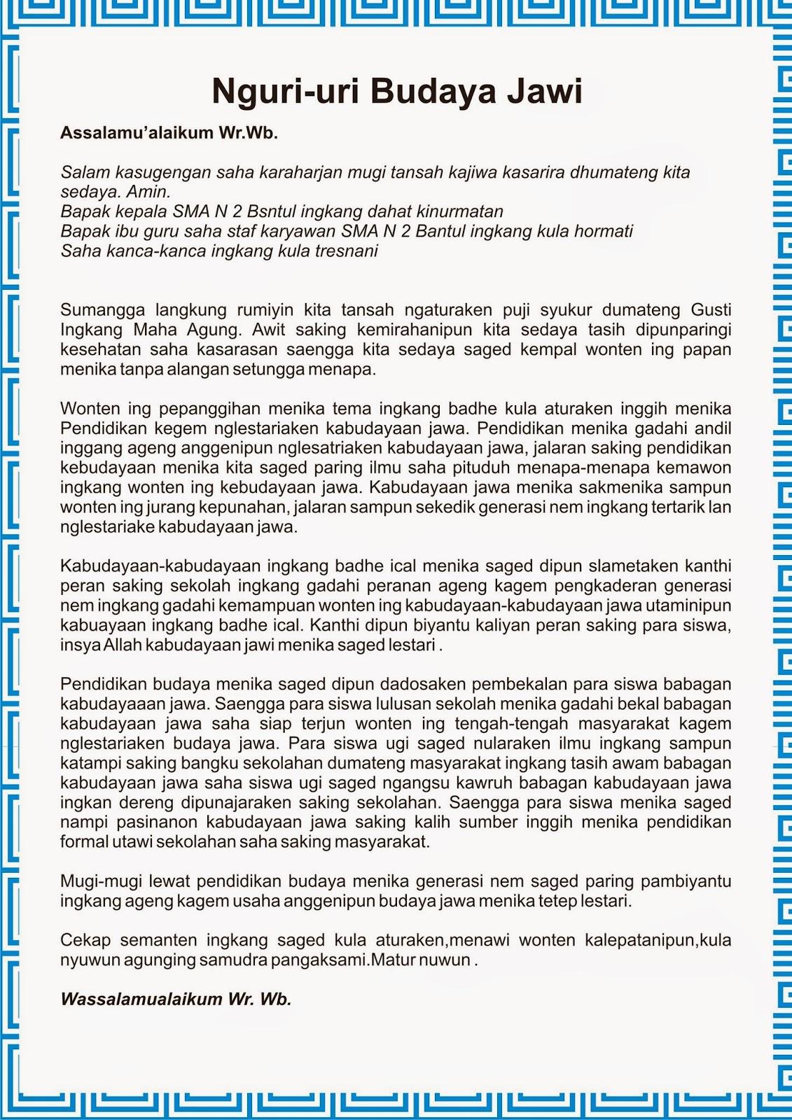 Pawarta Bahasa Jawa Wood Scribd Indo
