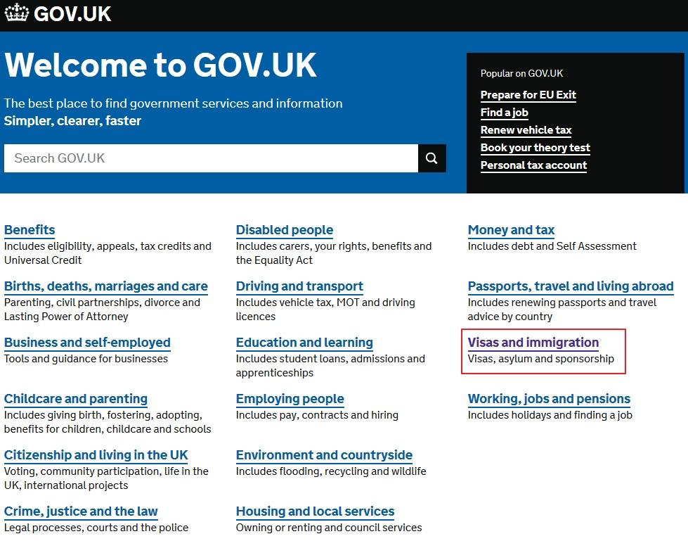 海外求職分享(下) - 英國T2工作簽證