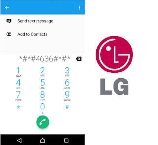أكواد و رموز هواتف إل جي Codes for LG   رموز موبايل إل جي LG  جميع أكواد المخفية في هواتف إل جي LG