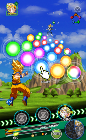 Dragon Ball Z Dokkan Battle v2 4 2 Online Apk MOD Free - screenshot 5 mode