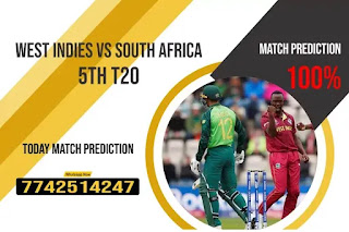 Perfect 5th T20 Match WI vs RSA Who will win Today Astrology