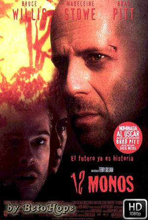12 Monos [1995] [Latino-Ingles] HD 1080P [Google Drive] GloboTV