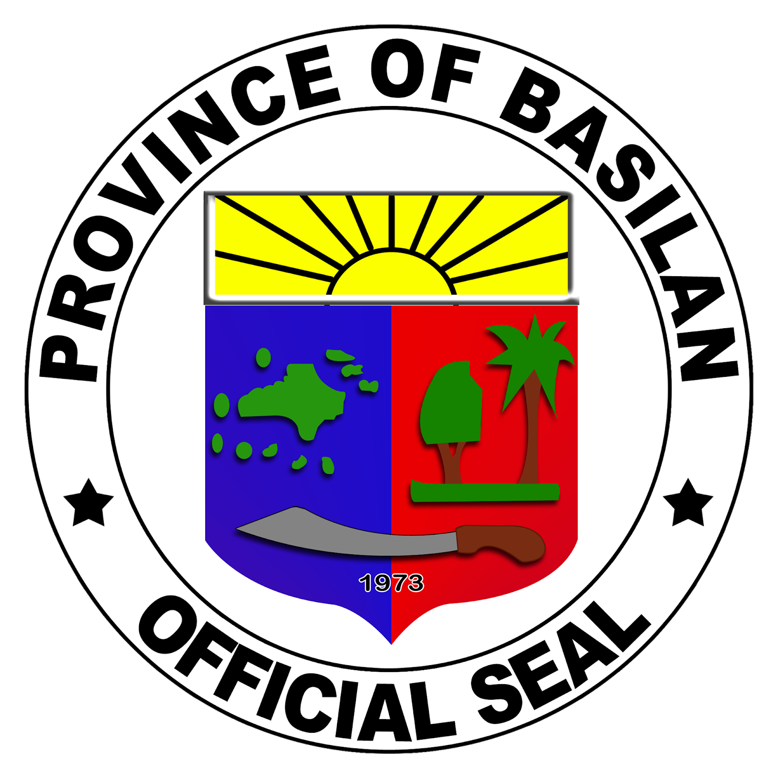 Province of Basilan Official Seal