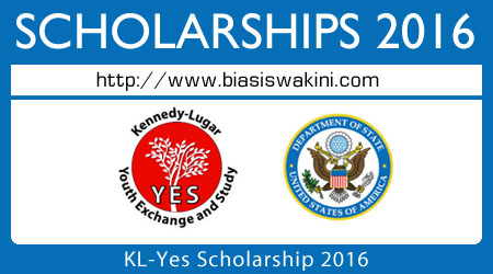 KL-Yes Scholarship 2016