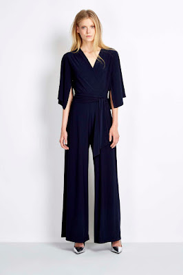 Wallis Ink Flare Sleeve Jumpsuit