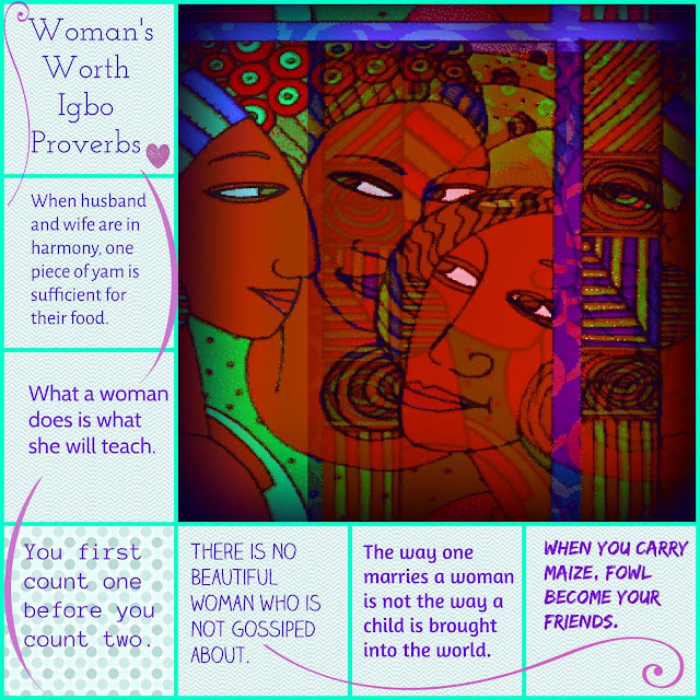 Woman's Worth Igbo African Proverbs