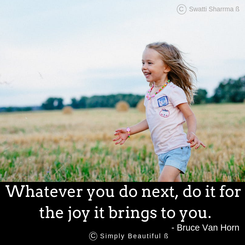 Quotes on joy.