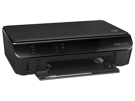 The HP Deskjet Ink Advantage 4515 looking really compact