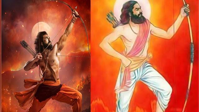 Ram Charan as Alluri Sita Rama Raju