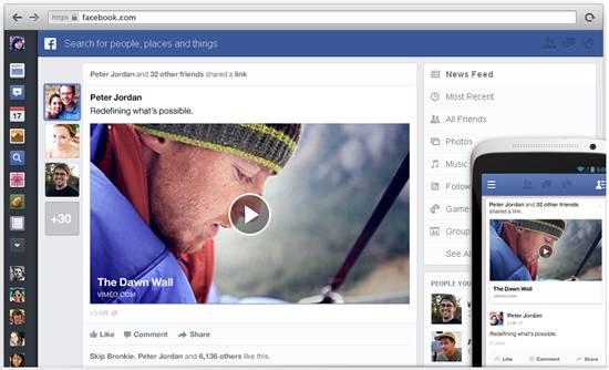 Facebook New Look