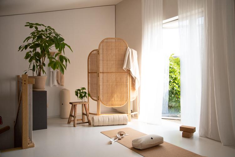My New Home Yoga Studio / Corner!