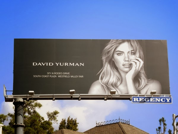 David Yurman jewelry billboard