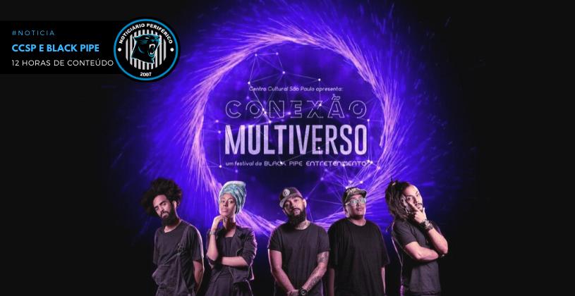 Central Cultural São Paulo e Black Pipe se unem em evento com 12 horas de conteúdo