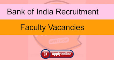 Bank of India Sarkari Naukri In Maharashtra | Recruitment 2020: Faculty Vacancies - 20,000 Salary - Apply Now On Sarkari Jobs Adda