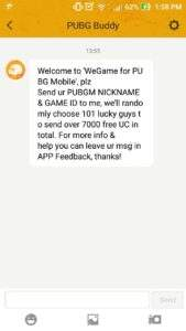 [100% working]How to Get Free UC Pubg mobile:-