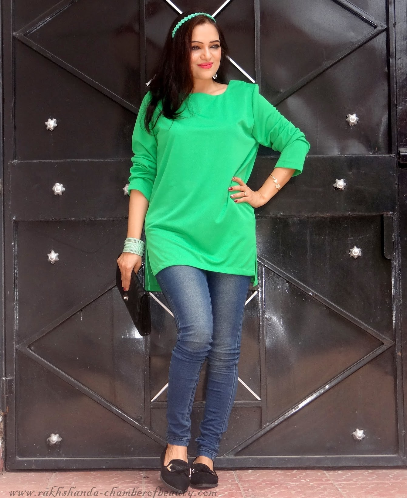 Green in one- OOTD, Zaful.com, Chamber of Beauty