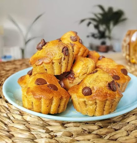 Muffins de avena en freidora de aire